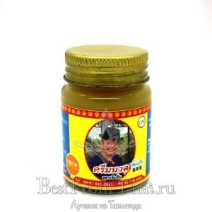 """Натуральный тайский тигровый бальзам на пчелином воске """"25 трав"""""""