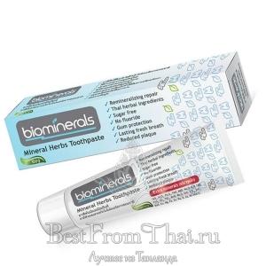 Минеральная зубная паста, восстанавливающая эмаль 100 гр
