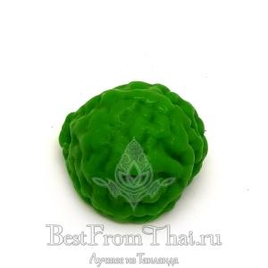 Натуральное мыло в форме фрукта кафир лайм