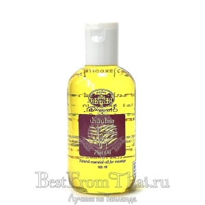 Массажное масло с эфирным маслом лечебного имбиря(40%)