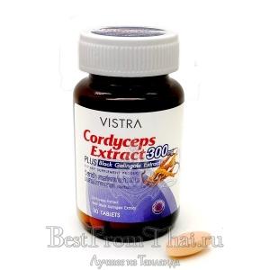 Экстракт кордицепса с черным галангалом, L-аргинином и женьшенем