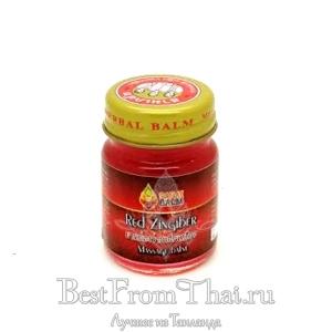 """Красный тайский бальзам Red Zingiber """"Sabai Balm""""(тестер)"""