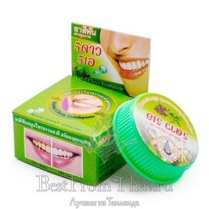 Зубная паста с экстрактом гвоздики и трав