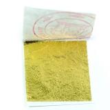 Пищевое сусальное золото 24К 30х30мм 10 листов