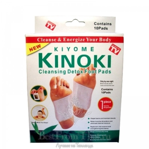 Пластырь для ног Kinoki