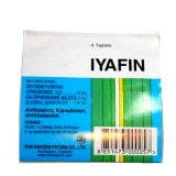 Таблетки против простуды, насморка и кашля Iyafin 4 таб