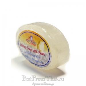 Медовое мыло с жемчугом K.Brothers 30гр