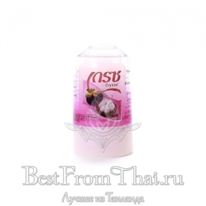 Квасцовый дезодорант кристалл c экстрактом мангостина