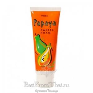 Пенка с папайей для жирной кожи