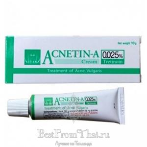 Крем против акне и пигментации Acnetin-A