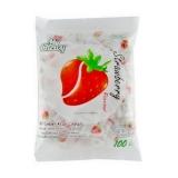 Молочные конфеты 360 гр клубника