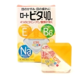 Японские капли для глаз с витаминами Rohto Cool 40 Alpha