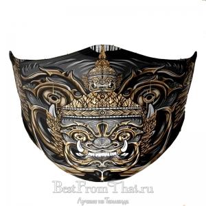 Дизайнерская защитная маска №1