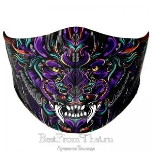 Дизайнерская защитная маска №3