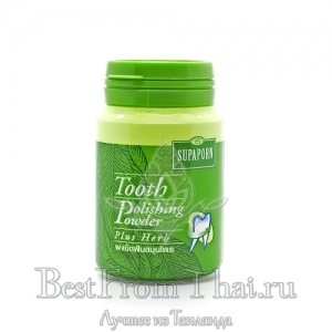 "Зубной порошок  ""Tooth polishing powder plus Herb"" 90 гр"