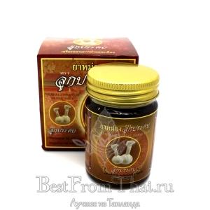 Имбирный тайский бальзам(вспомогательный для массажа горячими мешочками)