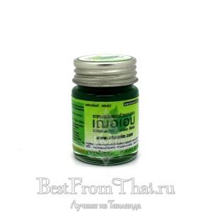 """Зеленый бальзам с экстрактом Clinacanthus nutans (Burm.f.) Линдау """"CHER-AIM"""" 20гр"""