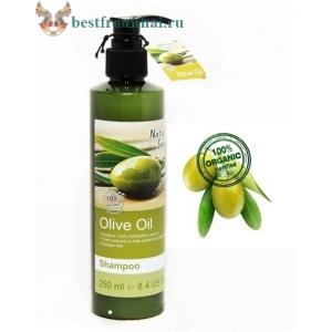 Органический оливковый шампунь Nature's Series