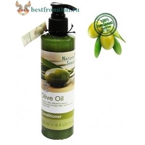 Органический оливковый бальзам для волос