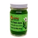 """Зеленый тайский бальзам """"Фар талай Джон"""" по рецепту доктора Мо Синк """"Sabai Balm"""" 130мл"""