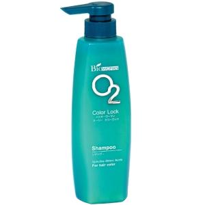 Шампунь для окрашенных волос со спирулиной О2