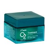 Маска для окрашенных волос со спирулиной О2
