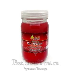 """Красный тайский бальзам Red Zingiber """"Sabai Balm"""" 300мл (вес 380гр)"""