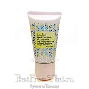 Натуральный питательный защитный крем для лица, губ и рук IZAR
