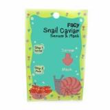 """Сыворотка+маска """"Snail caviar"""" Facy"""