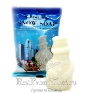 """Мыло для чувствительной кожи """"Снеговик"""" от Мадам Хенг"""