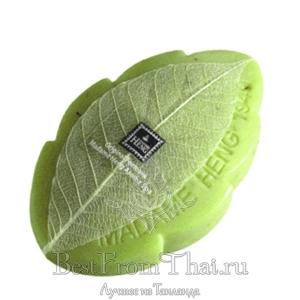 """Антибактериальное мыло """"зеленый чай"""" от Мадам Хенг 80 гр"""