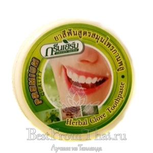 """Зубная паста """"Green herb""""10 гр"""