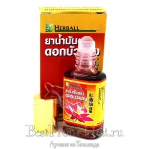 """Лечебный бальзам-ингалятор с антистрессовым ароматом """"Красный лотос"""""""