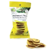 Тайские сладости: банановые чипсы с тамариндовой прослойкой
