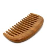 Деревянная расческа-гребень для густых и кудрявых волос