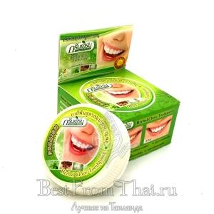 """Твердая зубная паста  """"Green herb"""""""