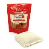 Натуральное массажное мыло-мочалка с танакой, коллагеном, коэнзимом и витамином Е