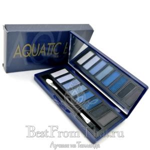 """Ухаживающие тени для век """"Aquatic blue"""""""