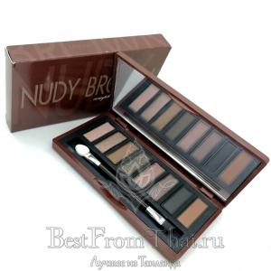 "Ухаживающие тени для век ""Nude brown"""