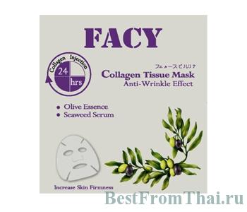 Facy collagen tissue mark anti wrinkle effect 3.Коллагеновые маски