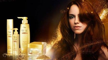 косметика для волос с биозолотом