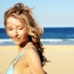 summer hair woman at beach 150x150 Биологически активные точки на лице и голове