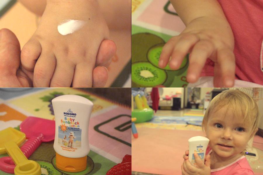 детский солнцезащитный крем