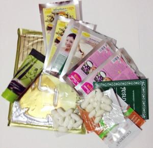 тайские маски и крема для лица