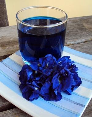 как правильно пить синий чай