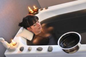 ванна с углем бамбука
