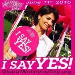 «Этот день может изменить всю вашу жизнь!»  Global Wellness Day