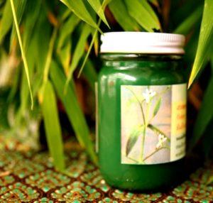 зеленый бальзам из Таиланда
