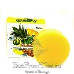 тайское натуральное ананасовое мыло