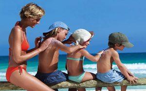 детская косметика защита от солнца